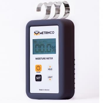 Профессиональный СВЧ влагомер древесины и строительных материалов METRINCO M120W