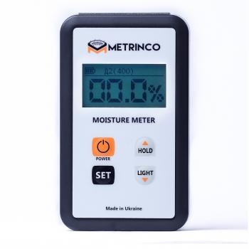 Професійний вологомір деревини METRINCO M112W (з глибиною проникнення 25 мм)
