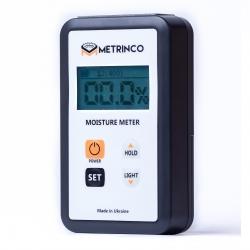 Професійний вологомір деревини METRINCO M118W (з глибиною проникнення 8 мм)